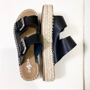 SODA Espadrille sandals